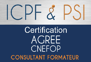 Logo ICPF PSI Agree CNEFOP Consultant Formateur